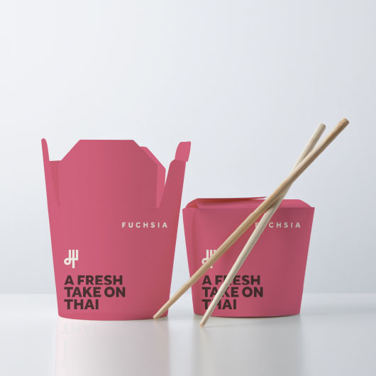 Fuchsia packaging