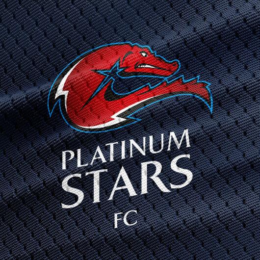Platinum Stars logo detail