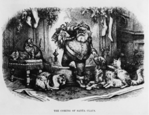 Thomas Nast The Coming of Santa Claus 1872