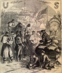 Thomas Nast for Harpers Weekly 1863