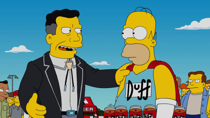 Duff Beer – The Simpsons