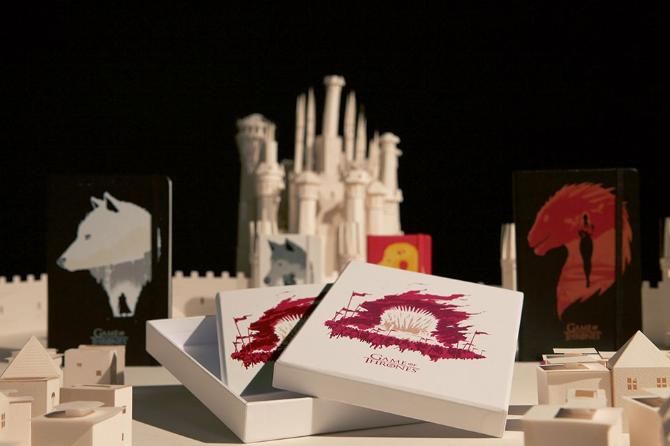 Game of Thrones Moleskine products